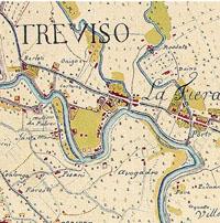 Prato della Fiera Treviso the Sile River and the landscape of a